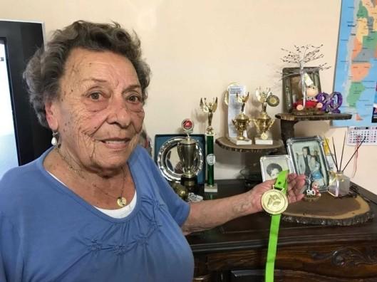 La abuela de 93 años que se consagró campeona del strudel