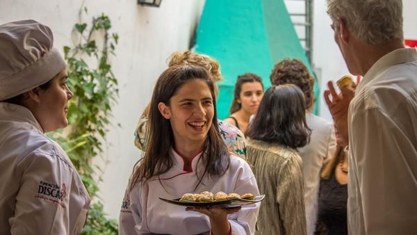 Catering a cargo de Atelier Gourmet, emprendimiento de Discar, fundación liderada por la emprendedora Ashoka Victoria Shocrón