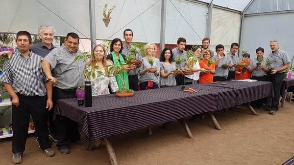Equipo de Ashoka visitando Granja Andar, organización liderada por el emprendedor social de Ashoka Raúl Lucero