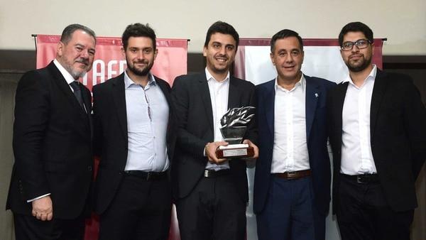 La Fundación Ecoinclusión recibió el Reconocimiento Taeda 2018 por su labor. Foto: Fernando Calzada.