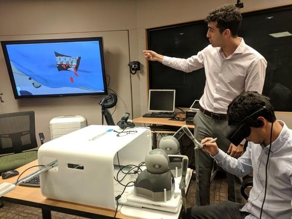 El simulador portátil fue presentado en EE.UU. Foto: Archivo DEF.
